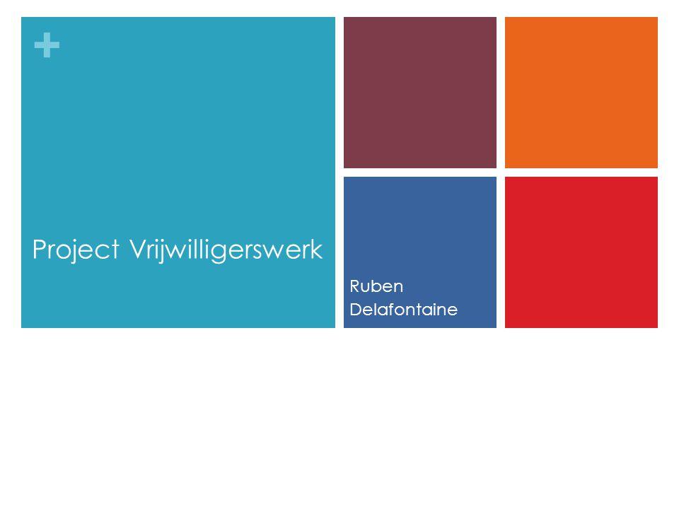 Project Vrijwilligerswerk