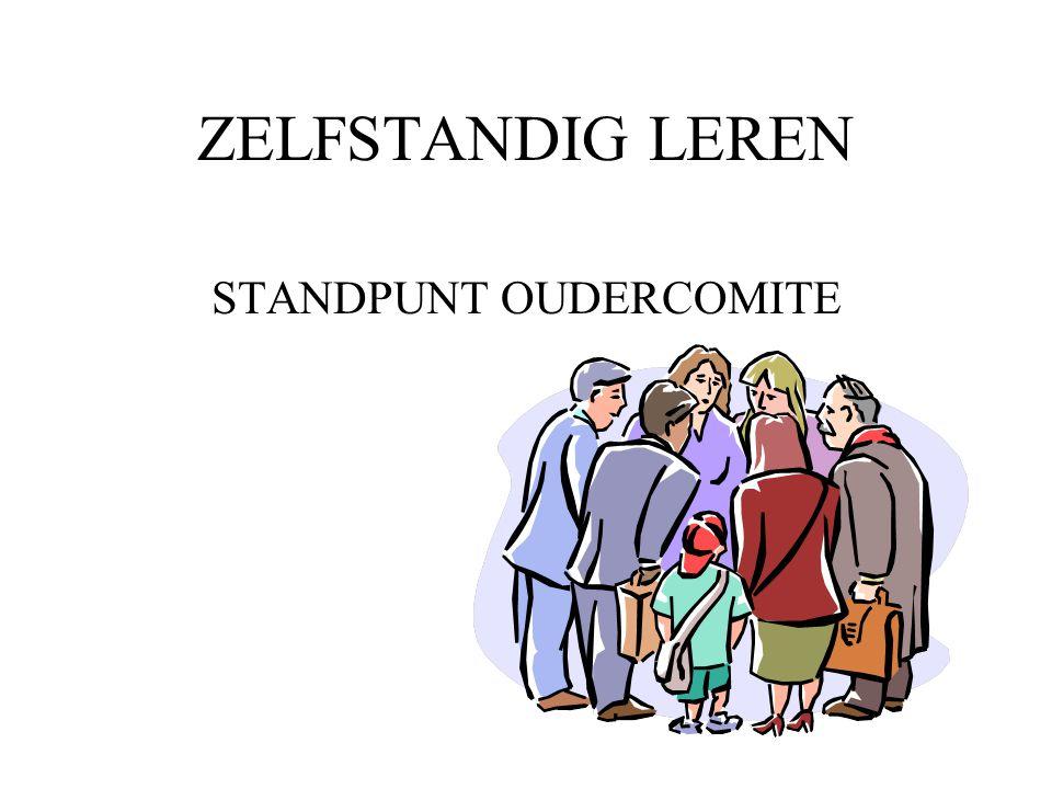 STANDPUNT OUDERCOMITE