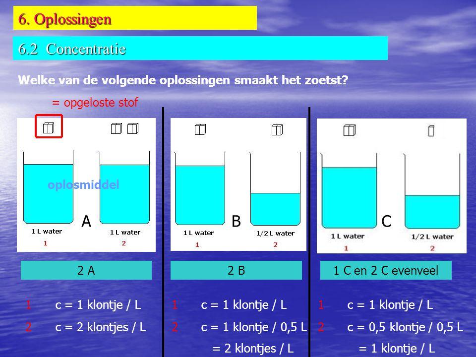 6. Oplossingen 6.2 Concentratie A B C