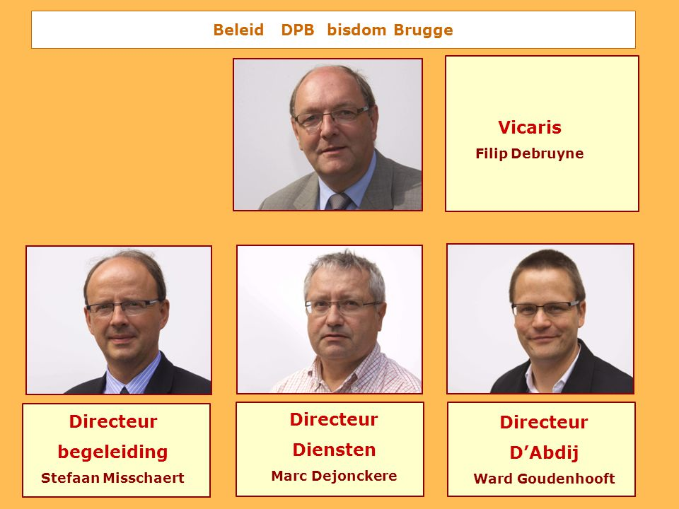 Beleid DPB bisdom Brugge
