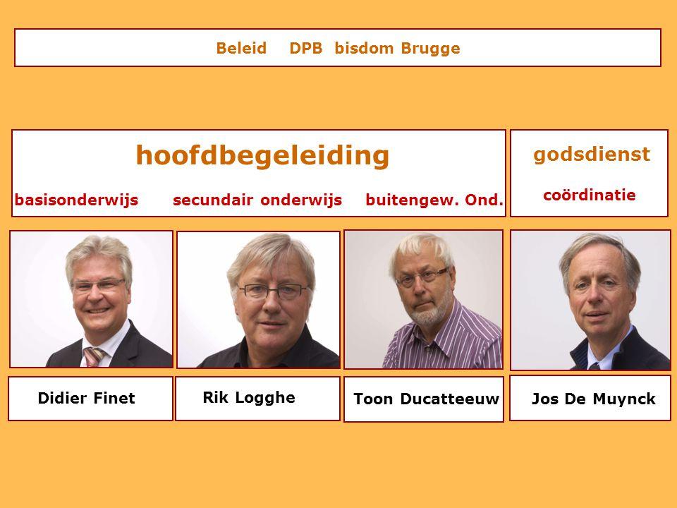 hoofdbegeleiding Beleid DPB bisdom Brugge