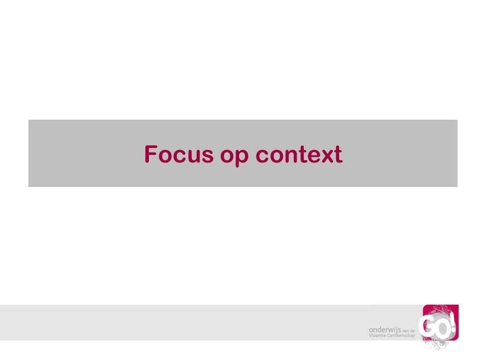 Focus op context Wendy Luyckx en Mark Verbelen