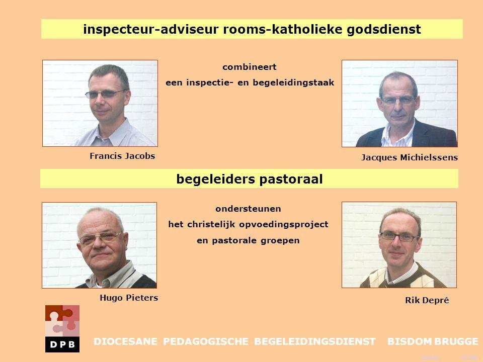 inspecteur-adviseur rooms-katholieke godsdienst begeleiders pastoraal