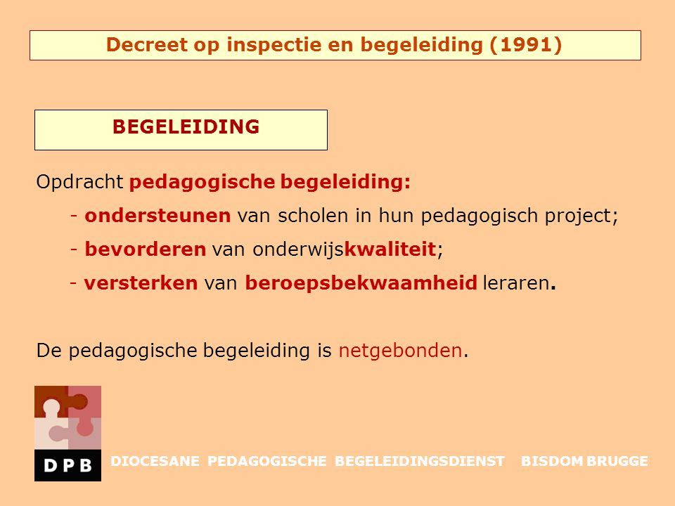 Decreet op inspectie en begeleiding (1991)