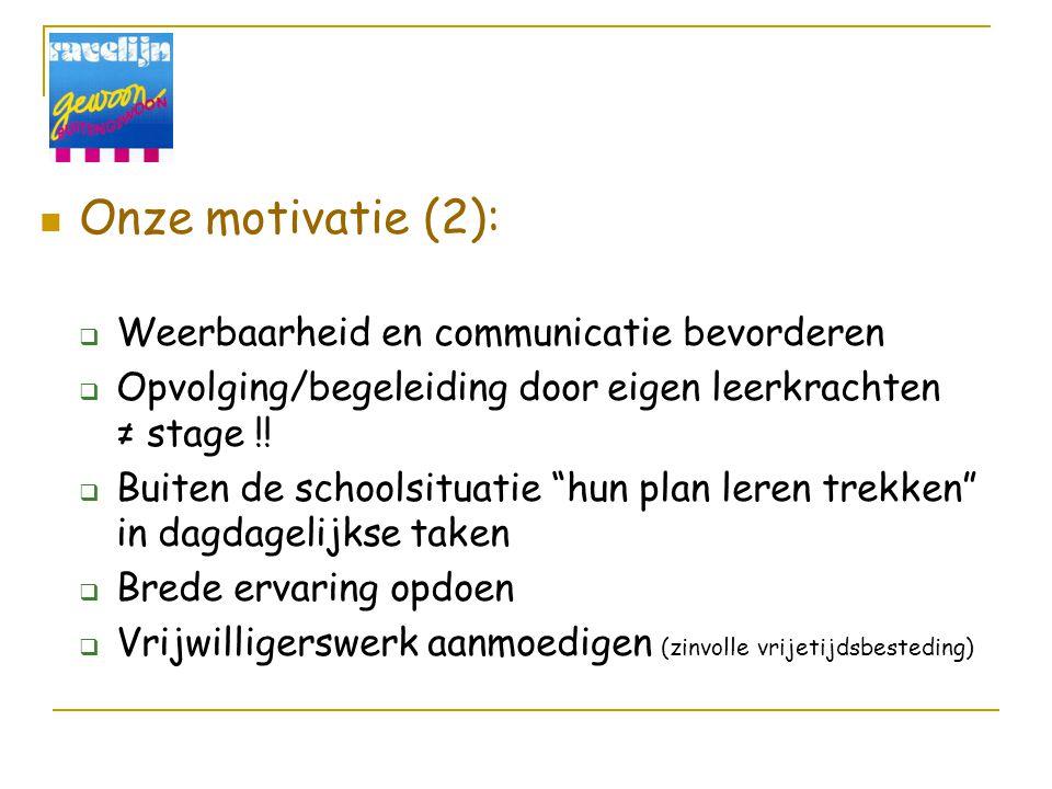 Onze motivatie (2): Weerbaarheid en communicatie bevorderen