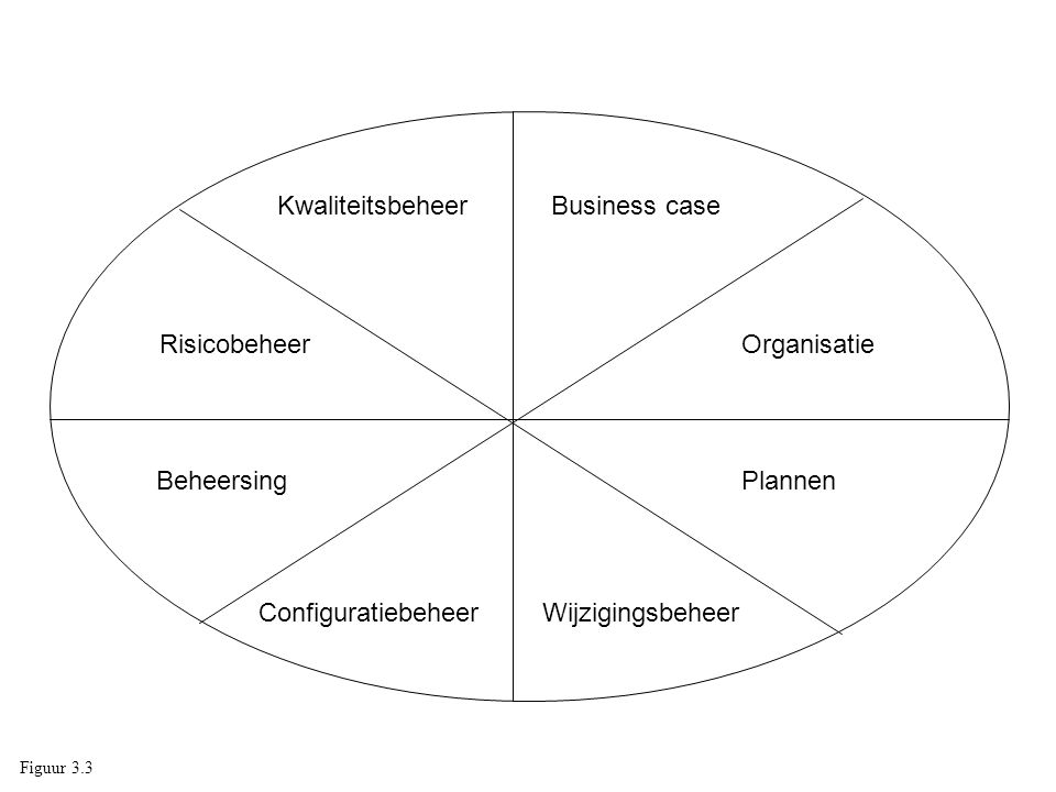 Kwaliteitsbeheer Business case Risicobeheer Organisatie Beheersing