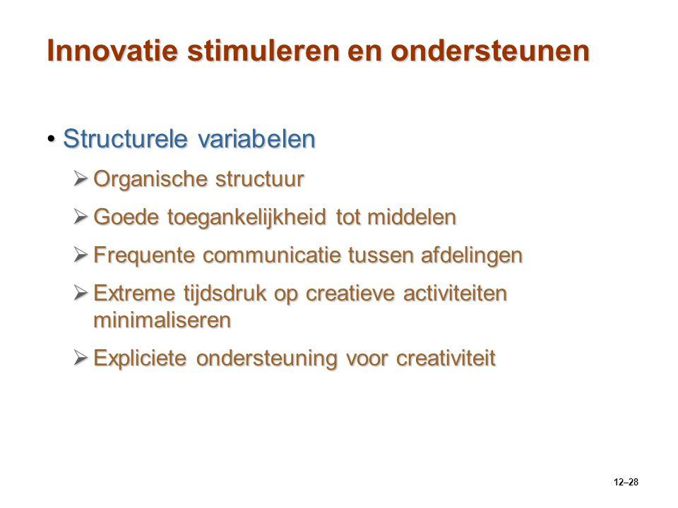Innovatie stimuleren en ondersteunen