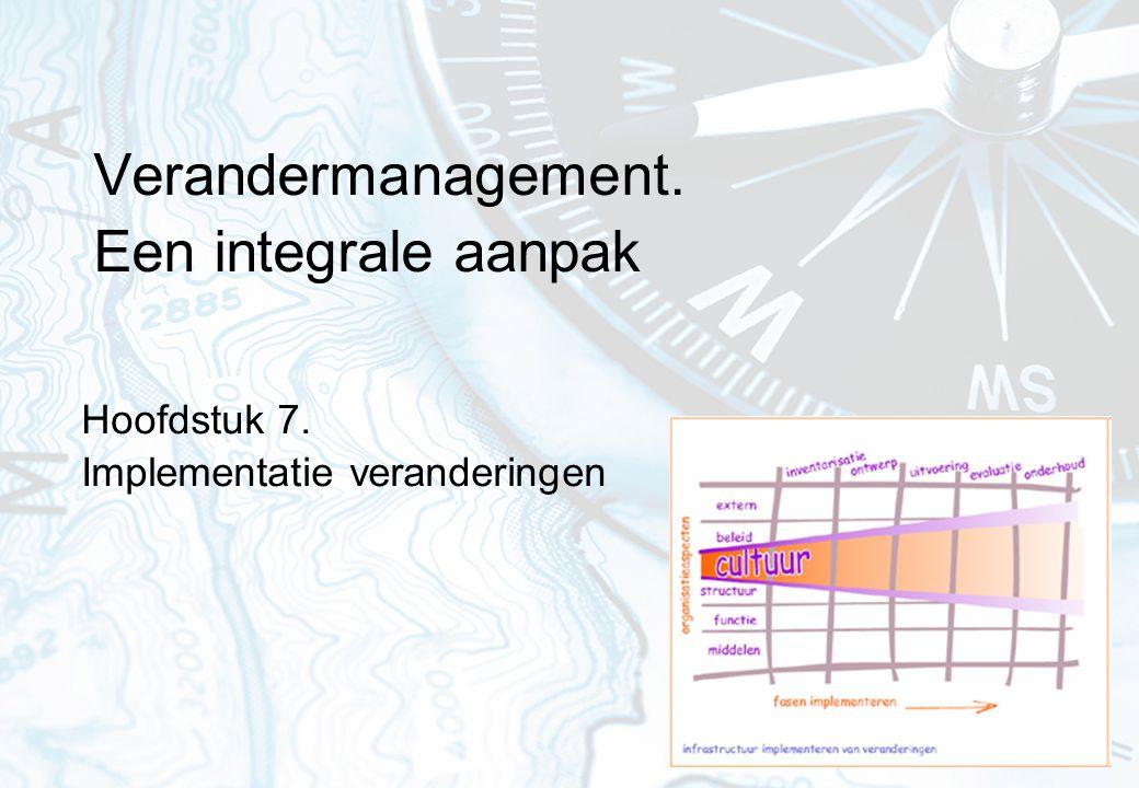 Verandermanagement. Een integrale aanpak