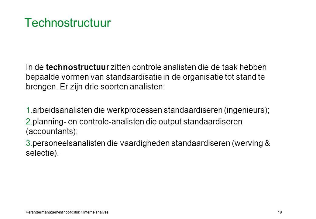 Technostructuur
