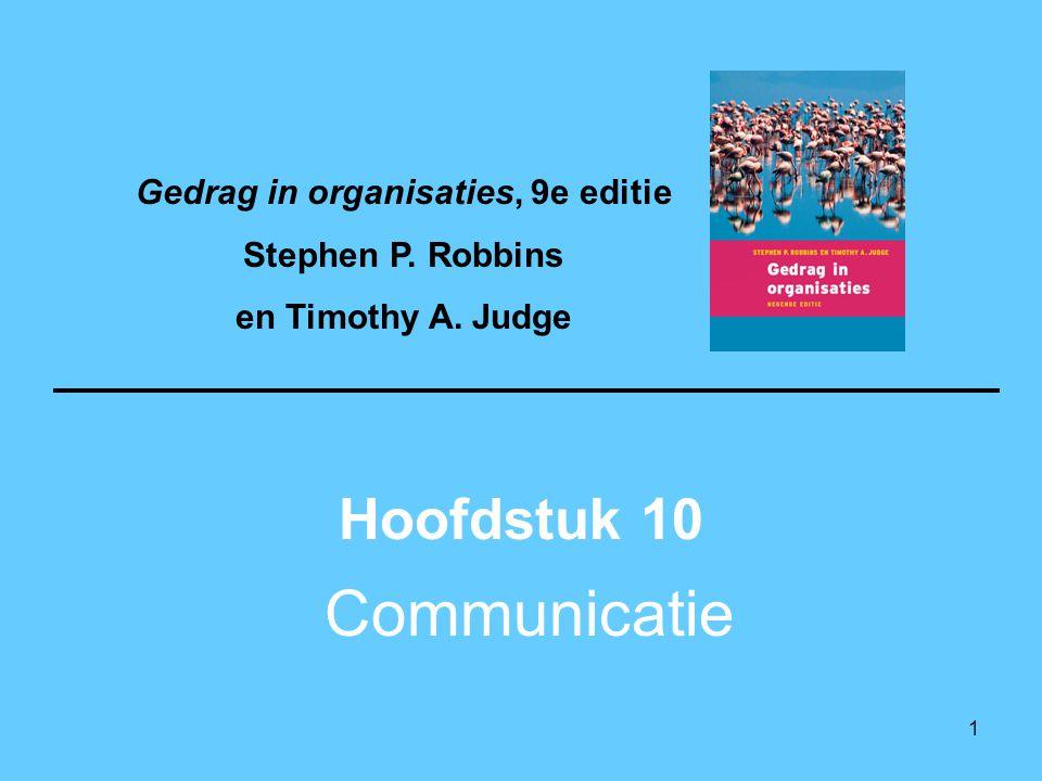 Gedrag in organisaties, 9e editie