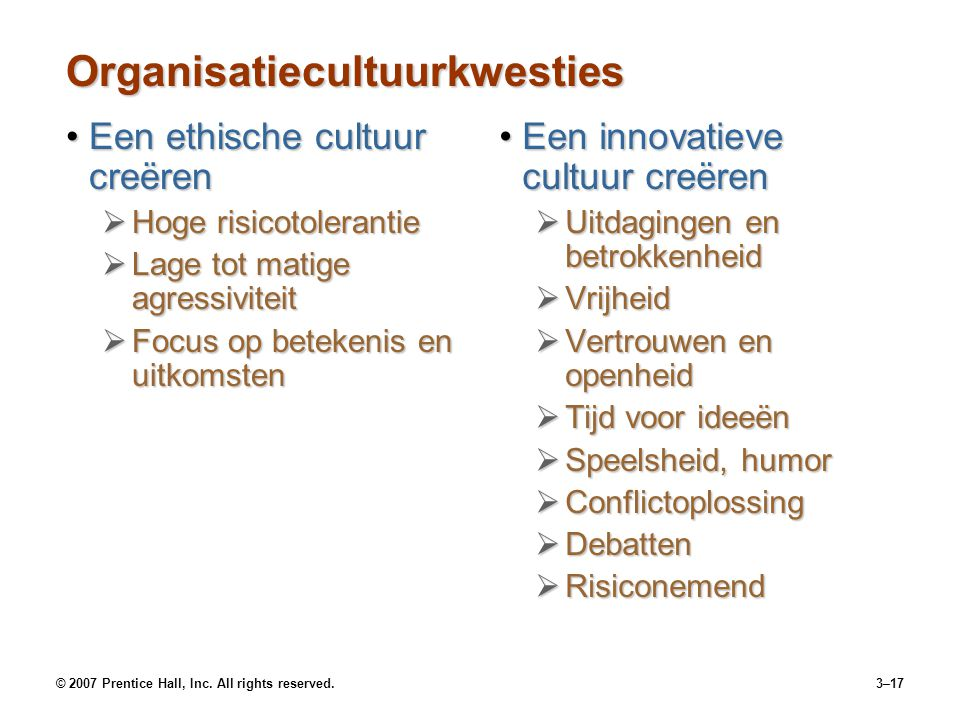 Organisatiecultuurkwesties