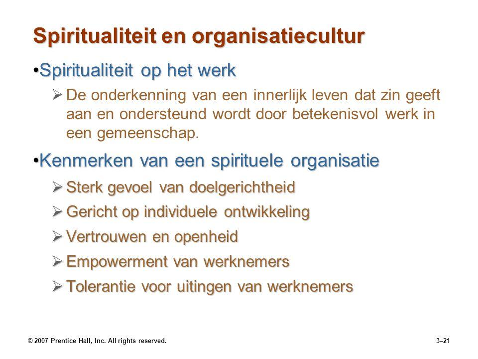 Spiritualiteit en organisatiecultur