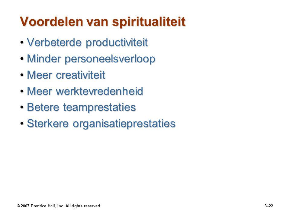 Voordelen van spiritualiteit