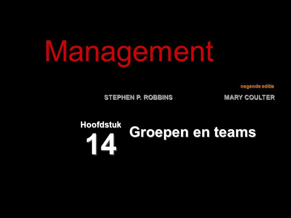 Management Hoofdstuk 14 Groepen en teams