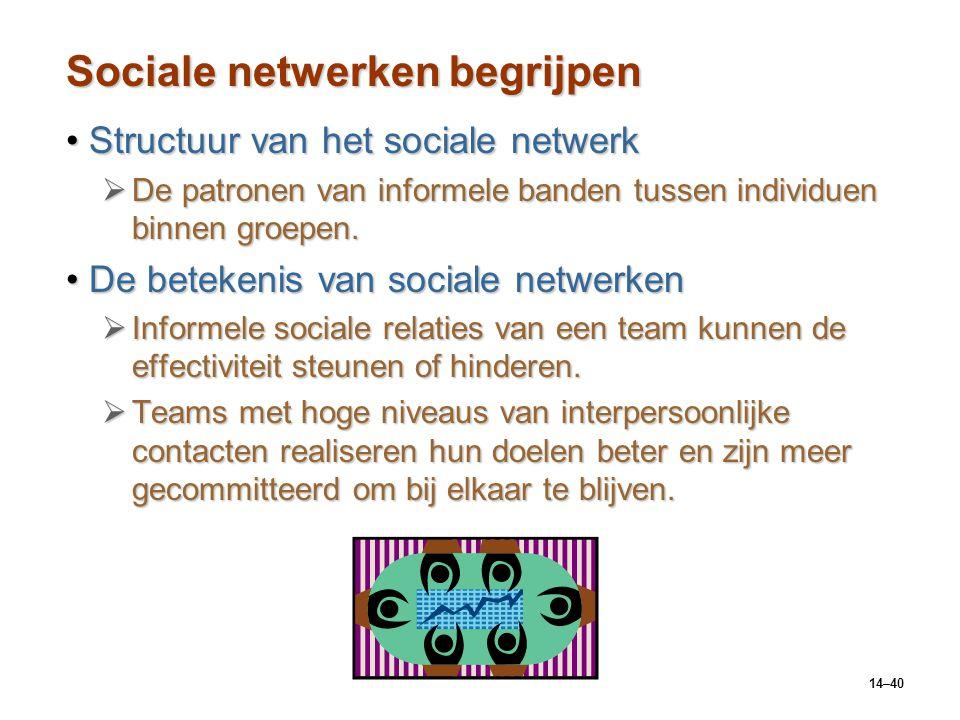 Sociale netwerken begrijpen