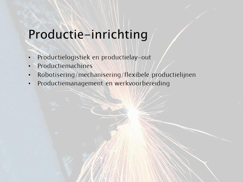 Productie-inrichting