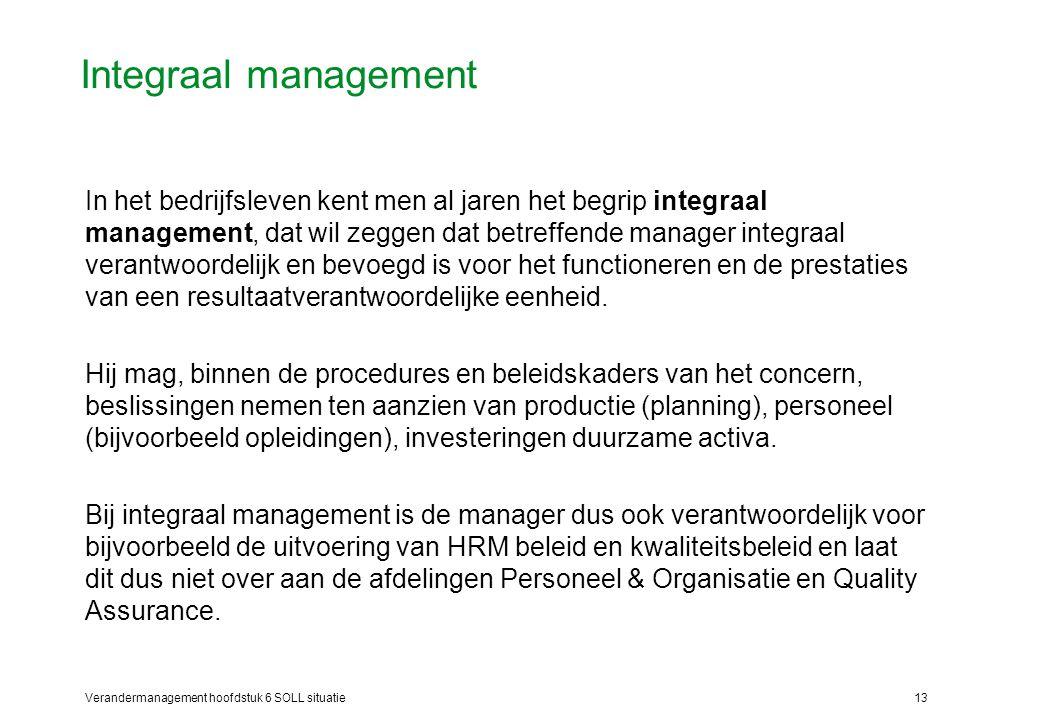 Integraal management