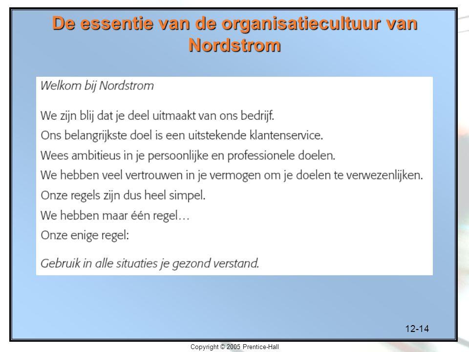De essentie van de organisatiecultuur van Nordstrom