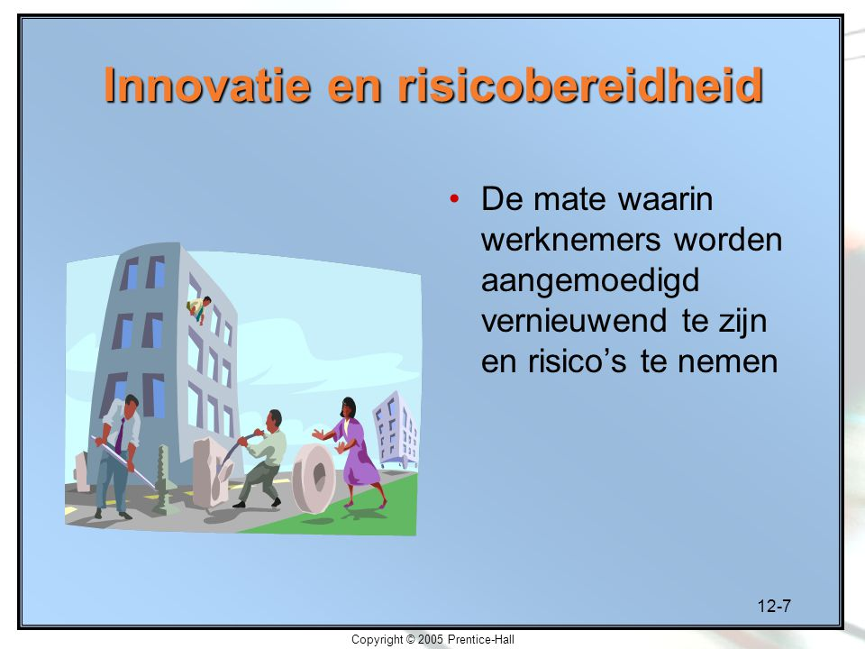 Innovatie en risicobereidheid