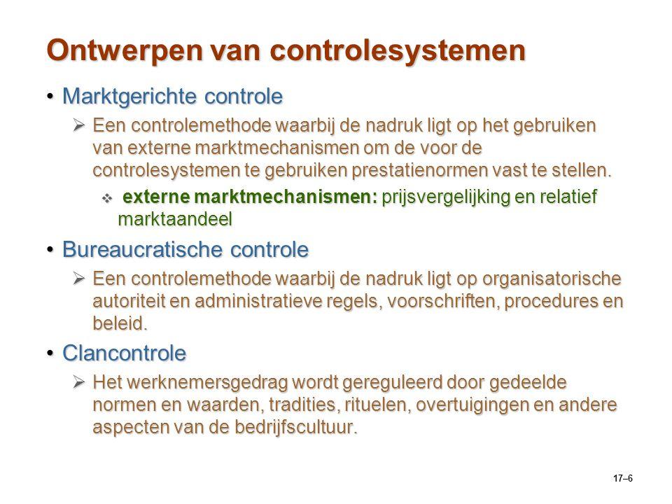 Ontwerpen van controlesystemen