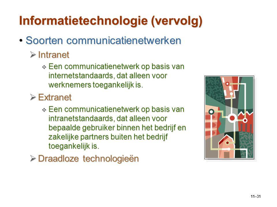 Informatietechnologie (vervolg)
