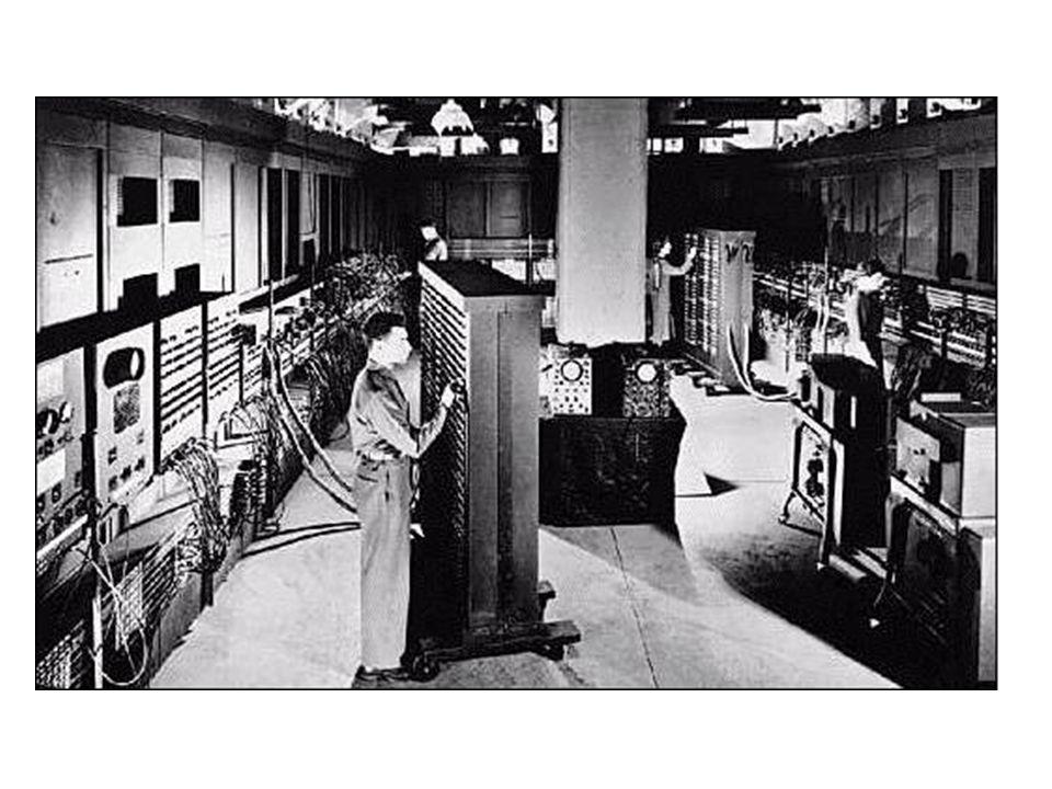 Figuur 1.2 De ENIAC-computer