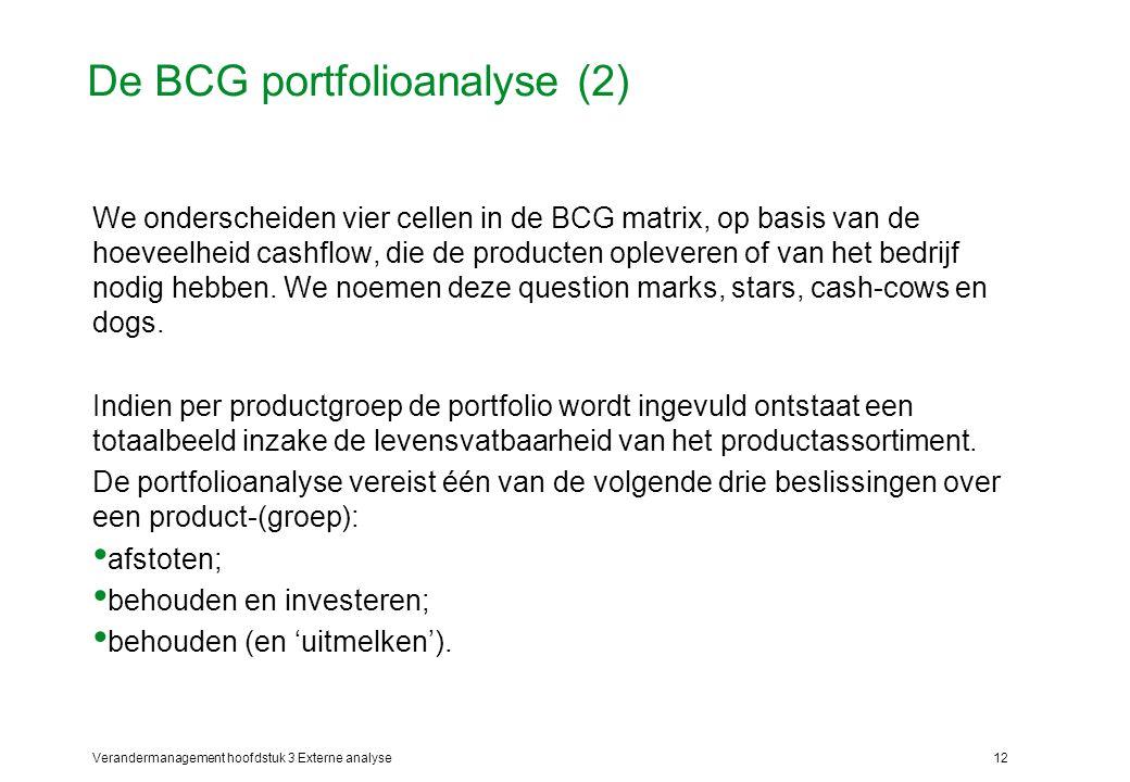 De BCG portfolioanalyse (2)