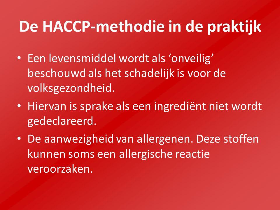 De HACCP-methodie in de praktijk