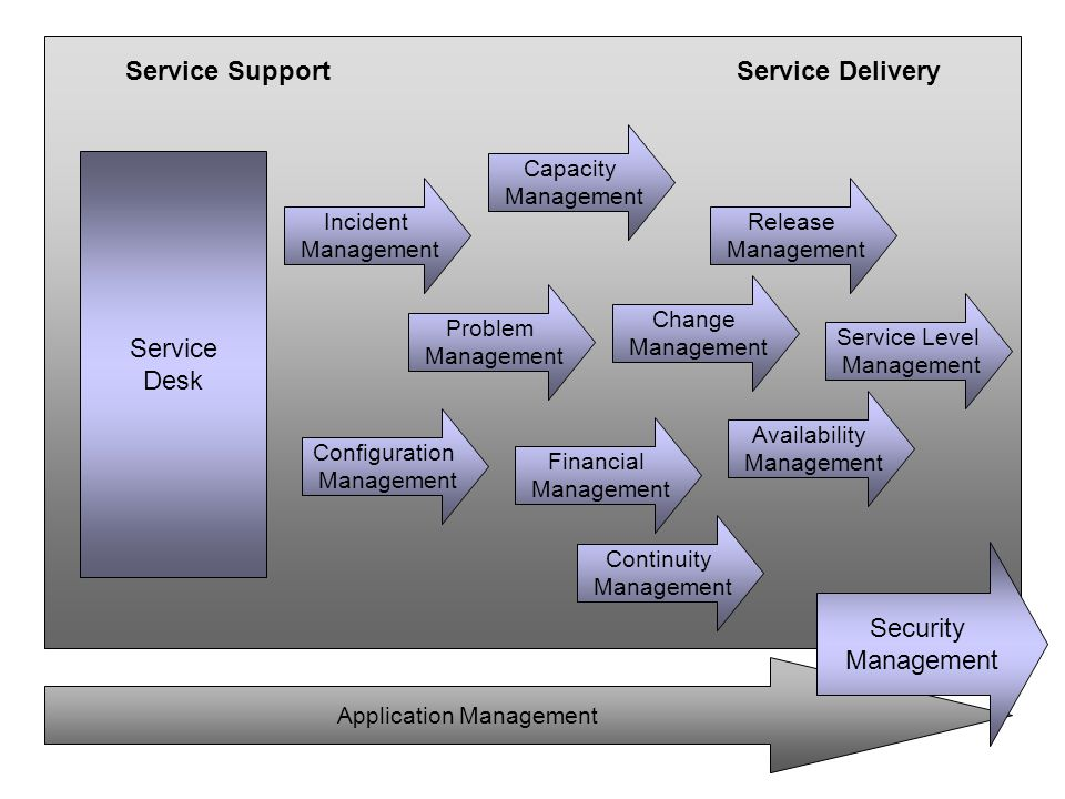 Service Support Service Delivery