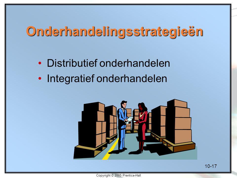 Onderhandelingsstrategieën