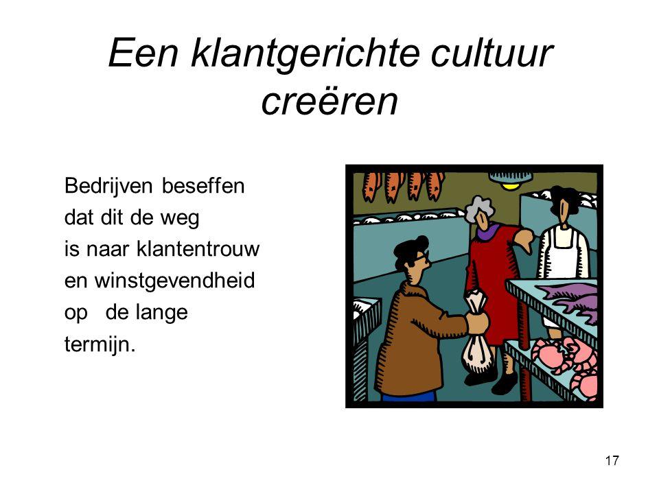 Een klantgerichte cultuur creëren