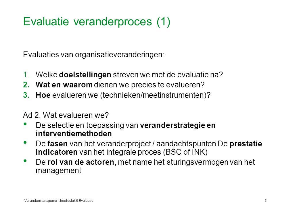 Evaluatie veranderproces (1)