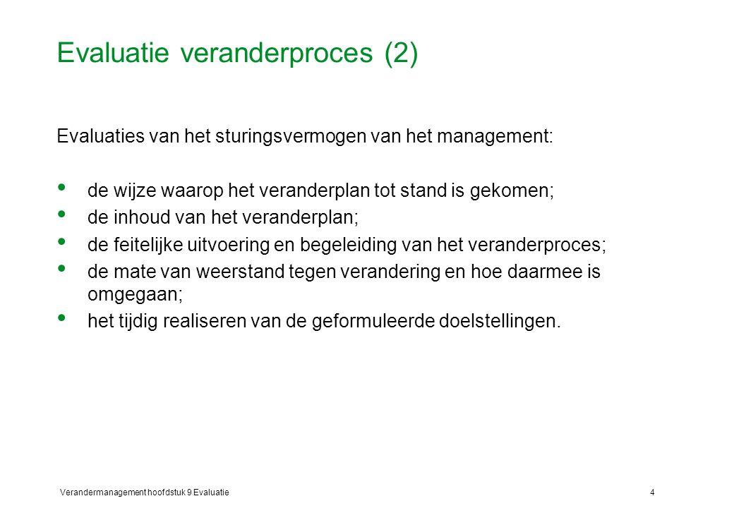 Evaluatie veranderproces (2)
