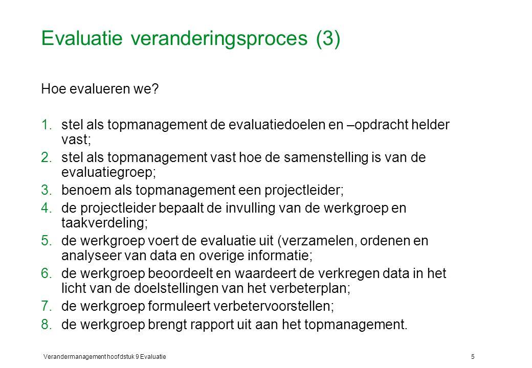Evaluatie veranderingsproces (3)