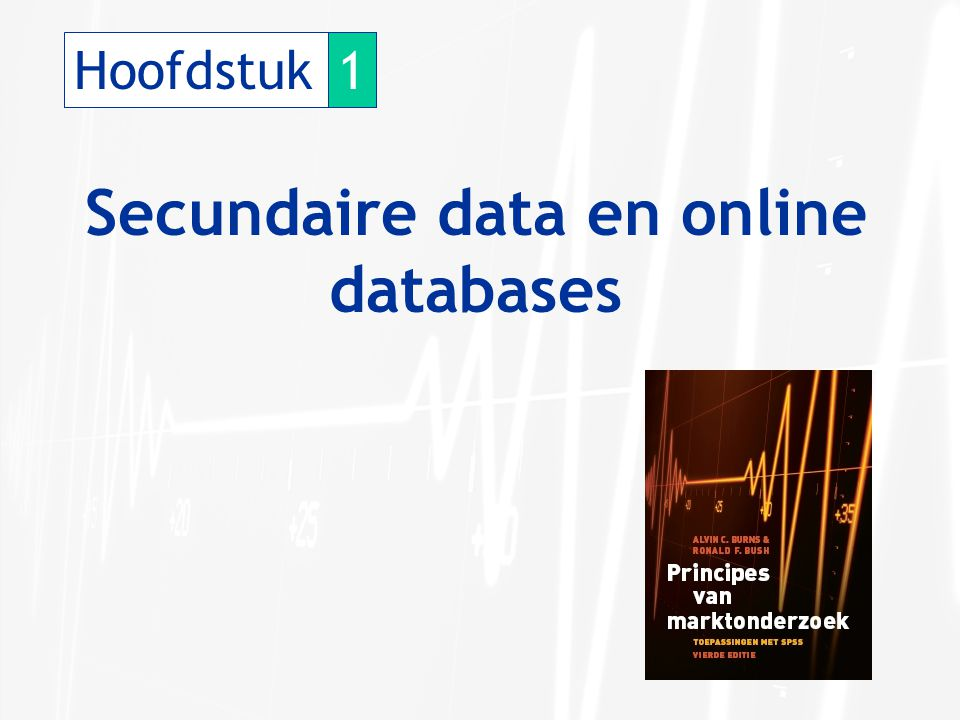 Secundaire data en online databases