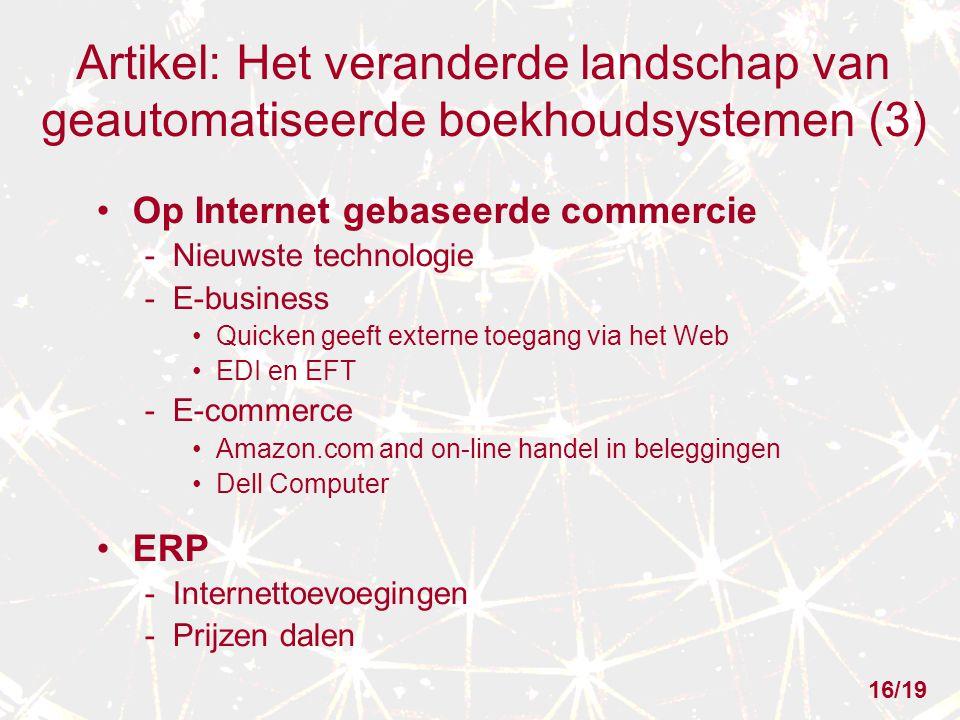 Artikel: Het veranderde landschap van geautomatiseerde boekhoudsystemen (3)