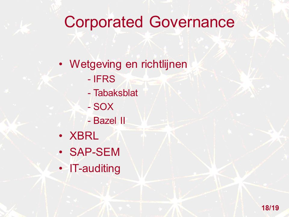 Corporated Governance
