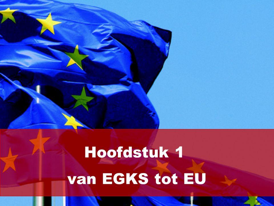 Hoofdstuk 1 van EGKS tot EU