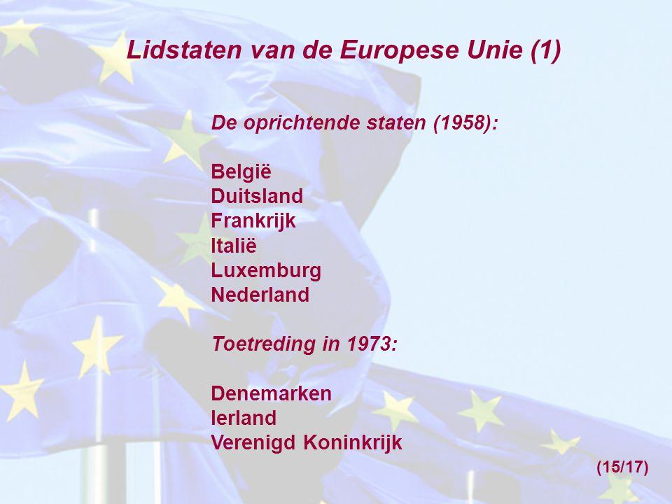 Lidstaten van de Europese Unie (1)