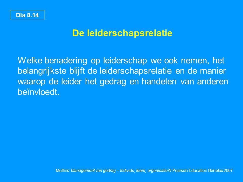De leiderschapsrelatie