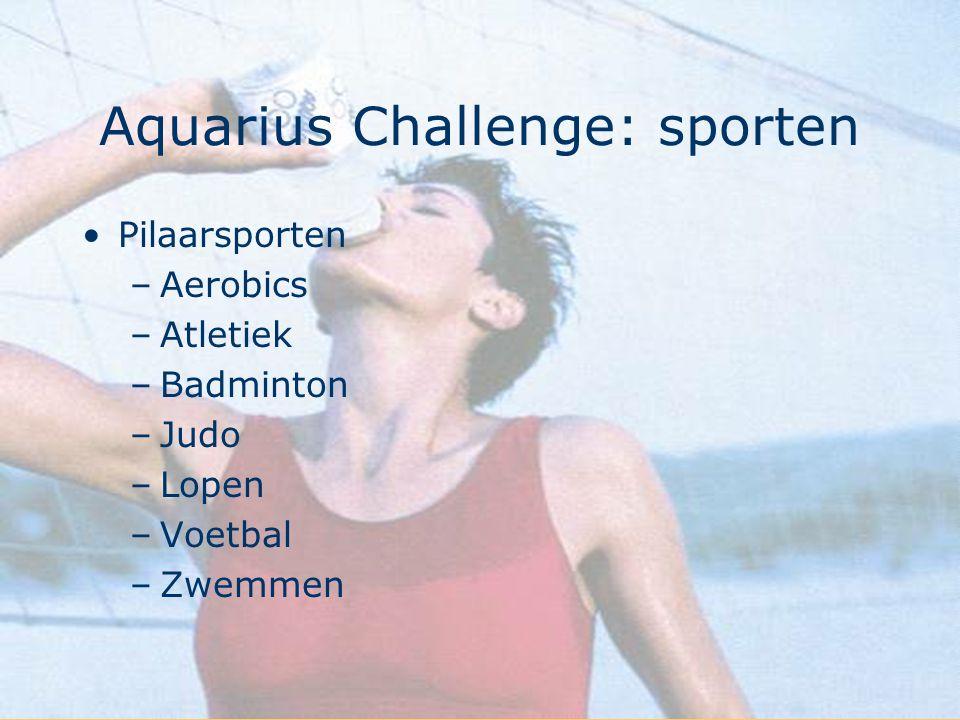 Aquarius Challenge: sporten