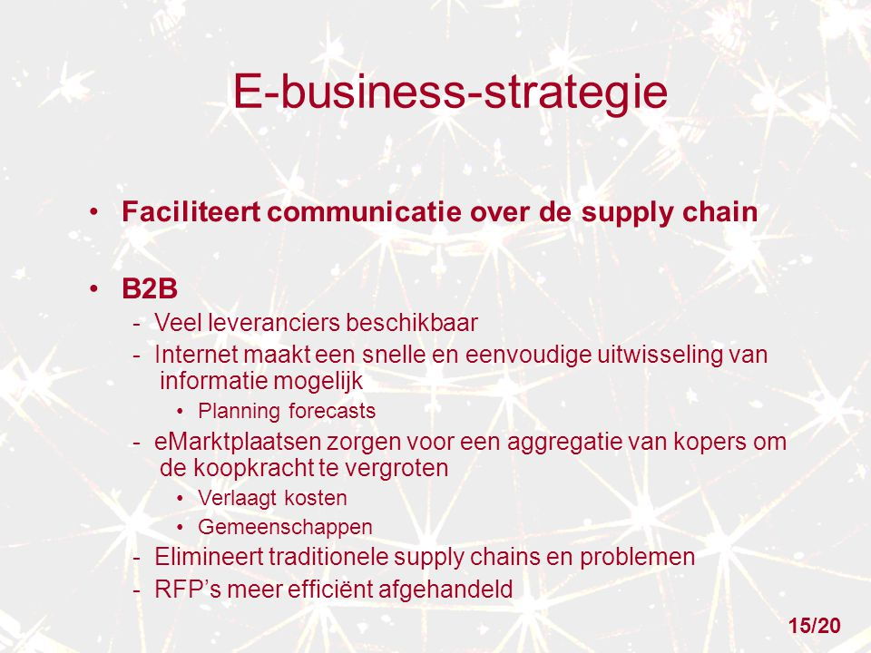 E-business-strategie