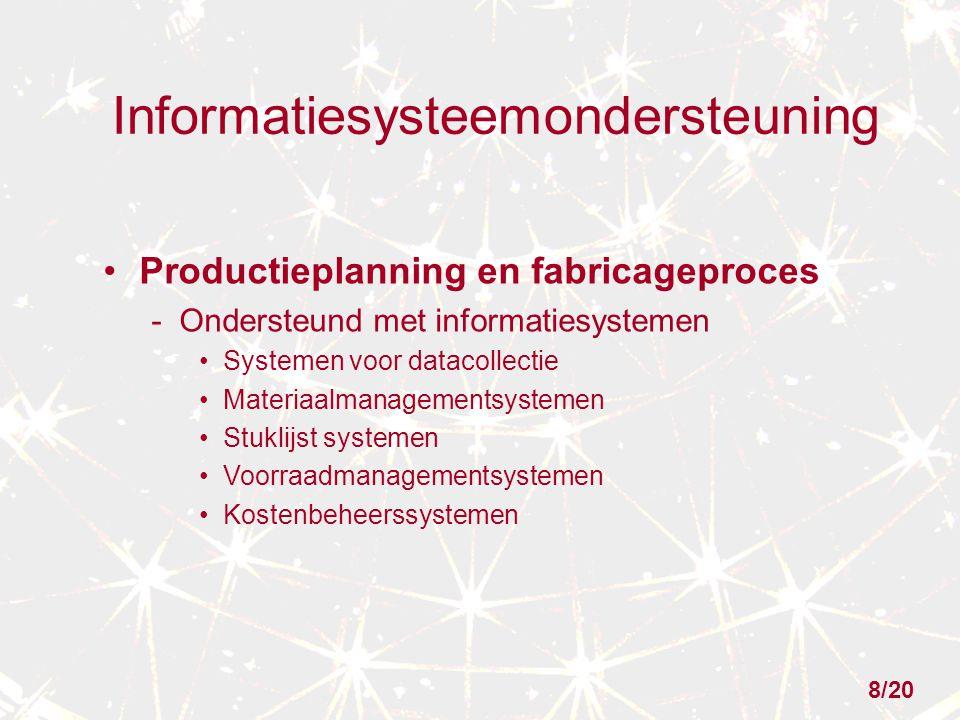 Informatiesysteemondersteuning