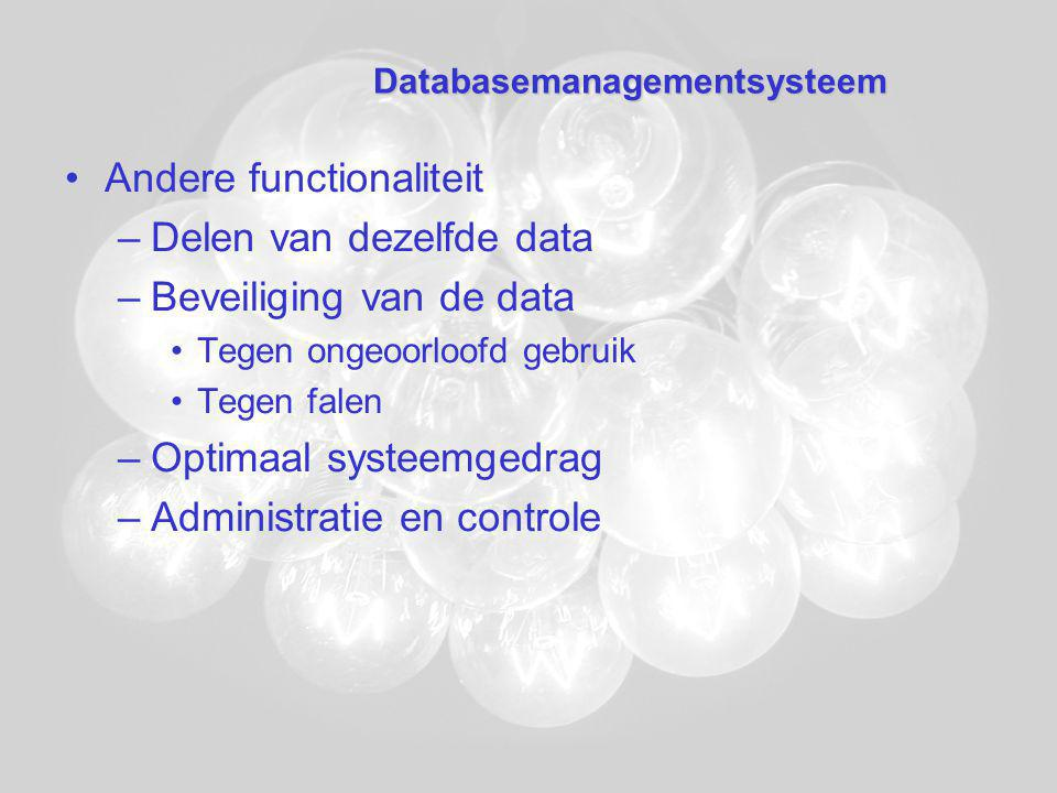 Databasemanagementsysteem
