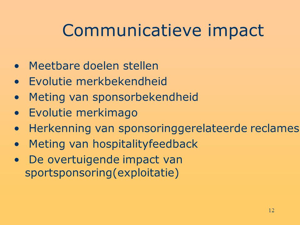 Communicatieve impact