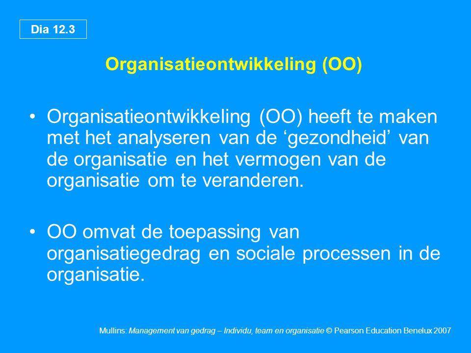 Organisatieontwikkeling (OO)