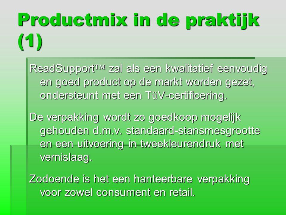 Productmix in de praktijk (1)