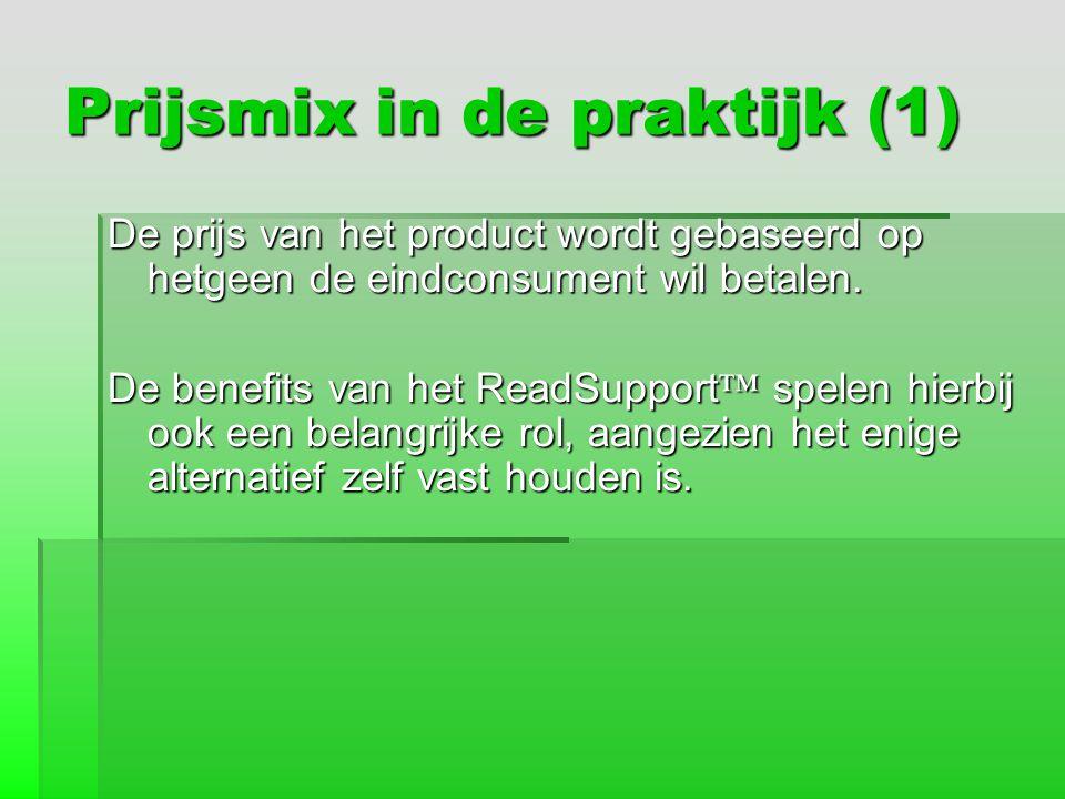 Prijsmix in de praktijk (1)