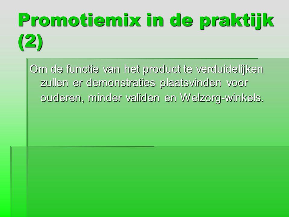 Promotiemix in de praktijk (2)
