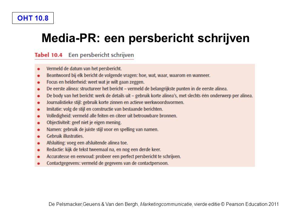 Media-PR: een persbericht schrijven
